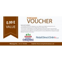 Purchase Voucher | Balance Payment Voucher | Value £ 0.99