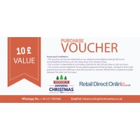 Purchase Voucher | Balance Payment Voucher | Value £ 10