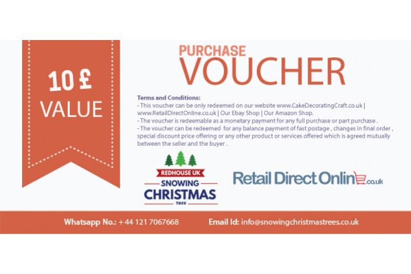Purchase Voucher   Balance Payment Voucher   Value £ 10