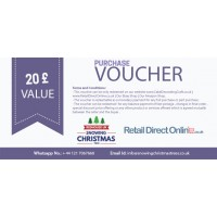 Purchase Voucher | Balance Payment Voucher | Value £ 20